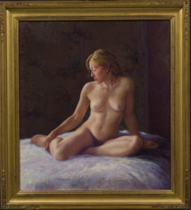 Female Nude with AM314VC frame