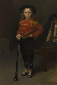 Girl with Clarinet